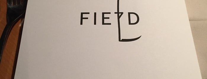 FIELD Restaurant is one of PRG.