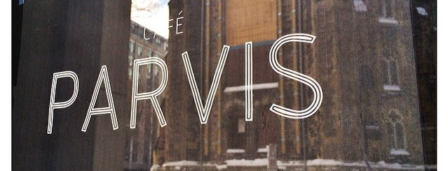 Café Parvis is one of Montreal.