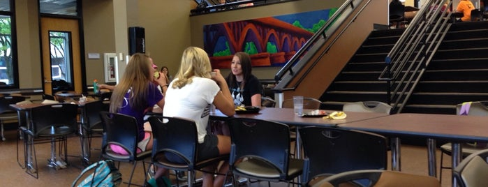 Jack Kane Dining Center is one of WSU Warrior Women.