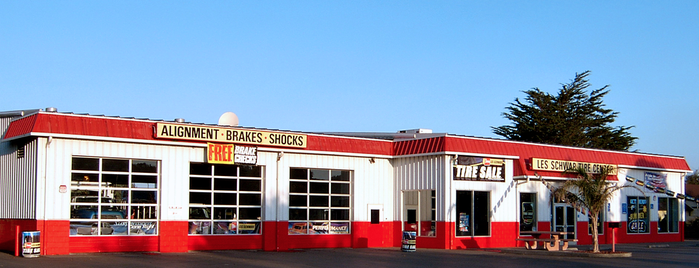 Les Schwab Tire Center is one of Favorites.