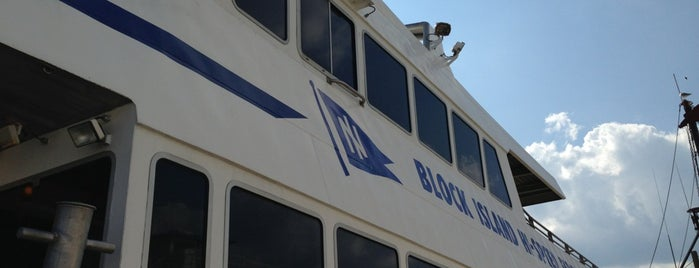 The Block Island Ferry is one of just a list of places.
