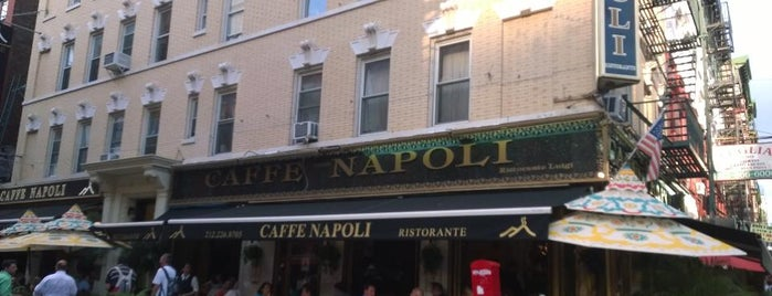 Caffé Napoli is one of NYC 2.