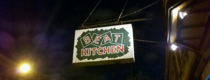 Beat Kitchen is one of Chicago.