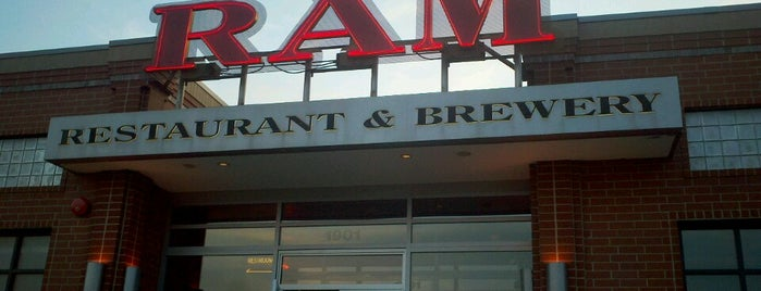 RAM Restaurant & Brewery is one of 2013 Chicago Craft Beer Week venues.