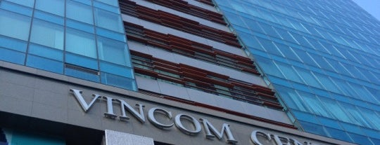 Vincom Center is one of Eating out in Saigon.