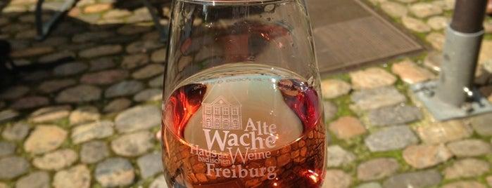 Alte Wache (Haus der Badischen Weine) is one of Freiburg.