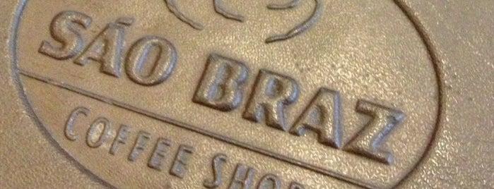 São Braz Coffee Shop is one of Locais para passear, relaxar e se divertir.
