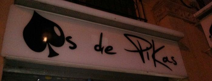As de Pikas is one of Caña y Tapa en Barcelona.....