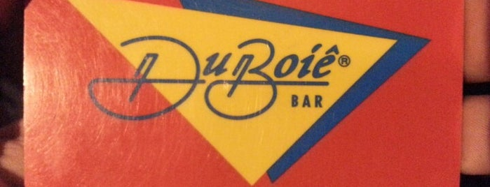 Duboiê Bar is one of Top 10 places to try this season.
