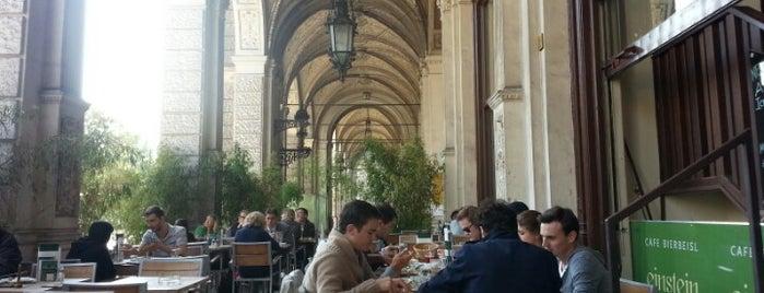 Café Einstein is one of Vienna.