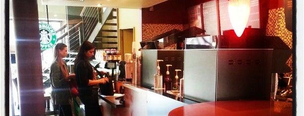 Starbucks is one of Ticket Restaurant.