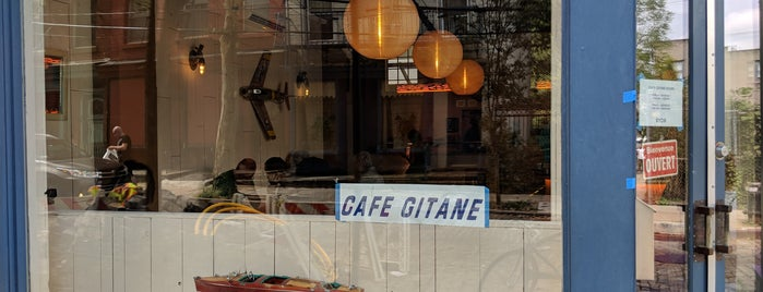 Cafe Gitane is one of Brooklyn stuff.