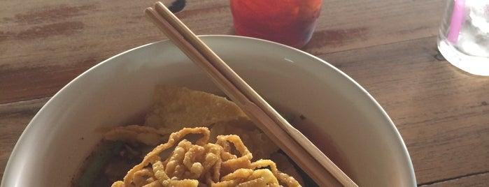 แต๋วรวมมิตร (กาดน้ำทอง) is one of Favorite Food.