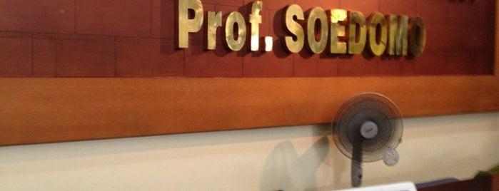 Rumah Sakit Gigi dan Mulut (RSGM) Prof. Soedomo is one of UGM.