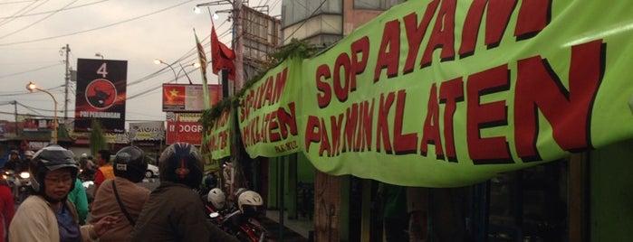 Sop Ayam Pak Min Klaten is one of 20 favorite restaurants.
