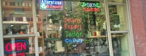 Master Tailoring & Cleaners is one of Alyssa's Philly Life.