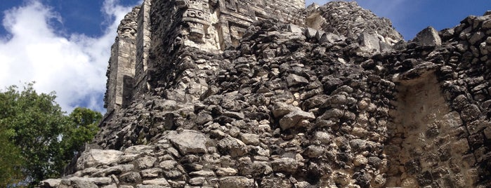 Zona Arqueológica Chicanná is one of Mexico // Cancun.