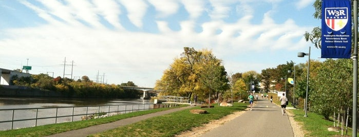 Schuylkill River Trail is one of Alyssa's Philly Life.