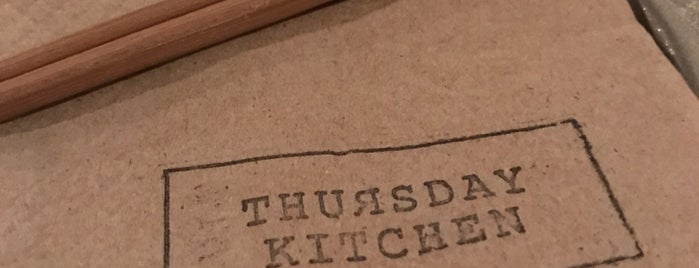 Thursday Kitchen is one of Japanese spots to try.