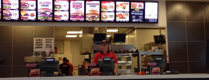 Carl's Jr. is one of burger and pizza.