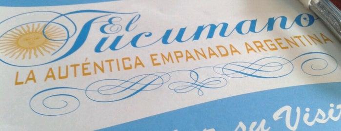 El Tucumano Empanadas Argentinas is one of Comida.