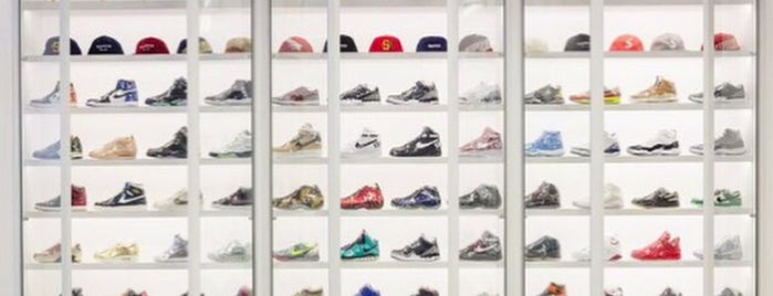 Stadium Goods is one of The Ultimate Guide to Shopping in NYC.
