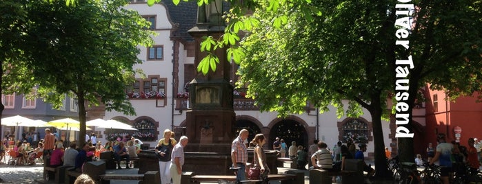 BURSE Cafe Bar Restaurant is one of Freiburg.