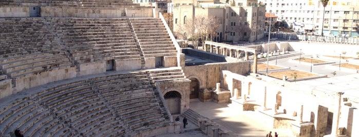 Roman Theater is one of Amman.