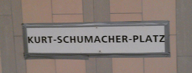 U Kurt-Schumacher-Platz is one of U-Bahn Berlin.