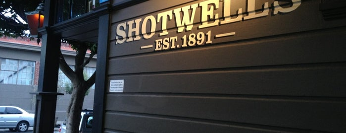 Shotwell's is one of San Francisco ♥.