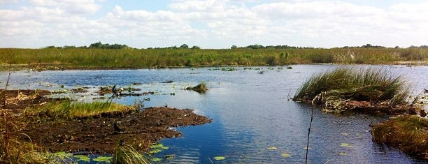 Everglades National Park is one of Miami.