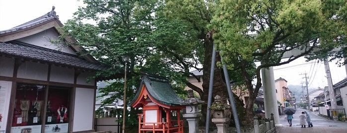 八代神社妙見宮 is one of 神社.