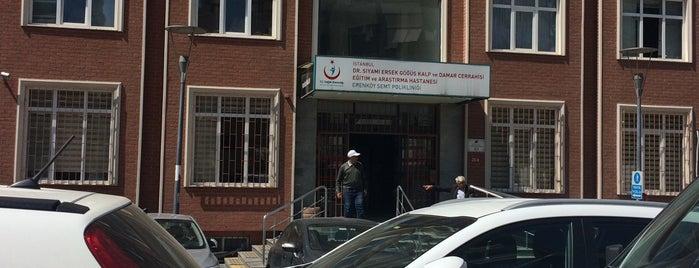 Erenköy Semt Polikliniği is one of oldugum yerler.