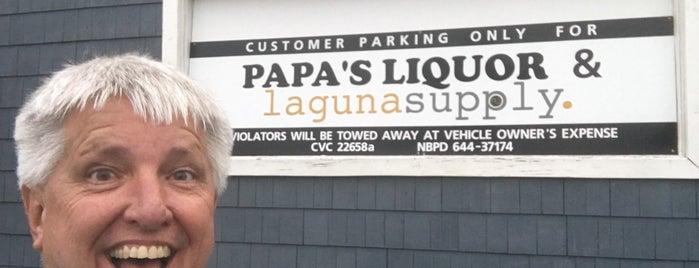 Papas liquor is one of Retailers.