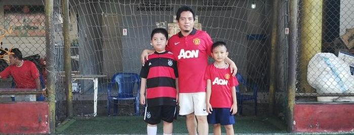 Sonic Futsal Indoor Stadium Palembang is one of Sport.