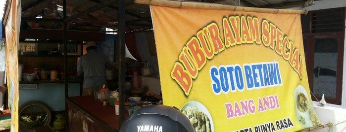 Sotol Betawi Bang Andi is one of Goyang Perut.