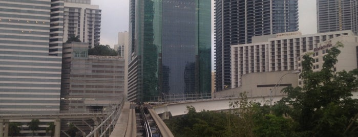 MDT Metromover - Third Street Station is one of My favorite places :).