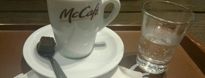 McCafé is one of Shopping Anália Franco.