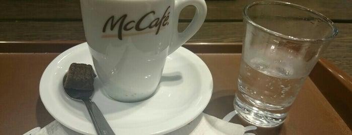 McCafé is one of Shopping Anália Franco.