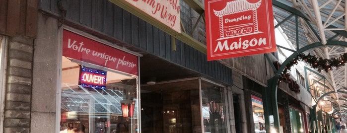 La Maison de Mademoiselle Dumpling is one of Restos.