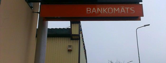 Swedbank bankomāts - ATM (Stende) is one of Swedbank bankomāti Kurzemē.