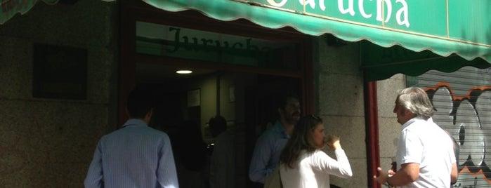 Jurucha is one of Madrid: de Tapas, Tabernas y +.
