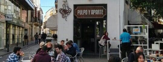 Pulpo y Aparte is one of Comer (bien) en Jerez.
