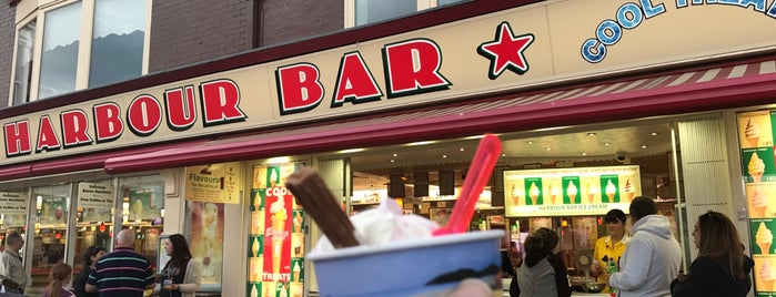 Harbour Bar Ice Cream Parlour is one of Things to do in Scarborough.