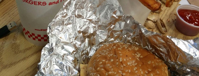 Five Guys is one of The 15 Best Places for Burgers in Miami.