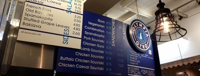 Olympic Gyro is one of LevelUp Philly Spots.