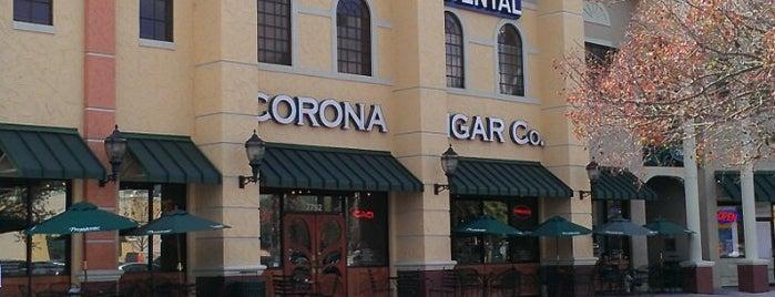 Corona Cigar Company & Drew Estate Lounge is one of Food.