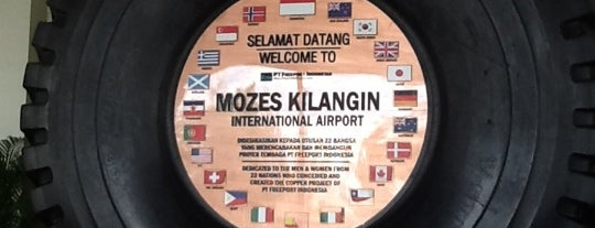 Mozes Kilangin International Airport (TIM) is one of Airport in Indonesia.