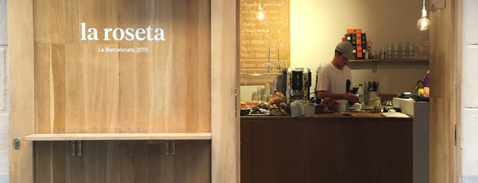 La roseta is one of Breakfast and nice cafes in Barcelona.