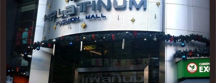 The Platinum Fashion Mall is one of Bangkok, Thailand.